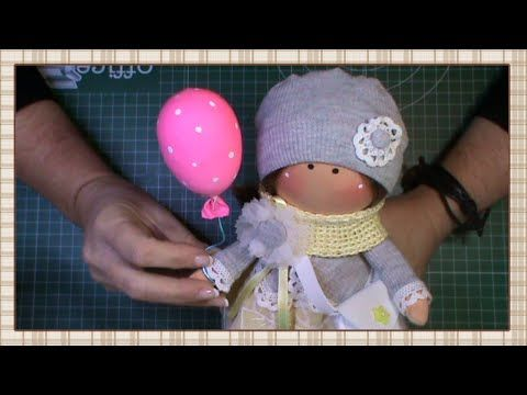 Tutorial: Globo para muñecas - YouTube