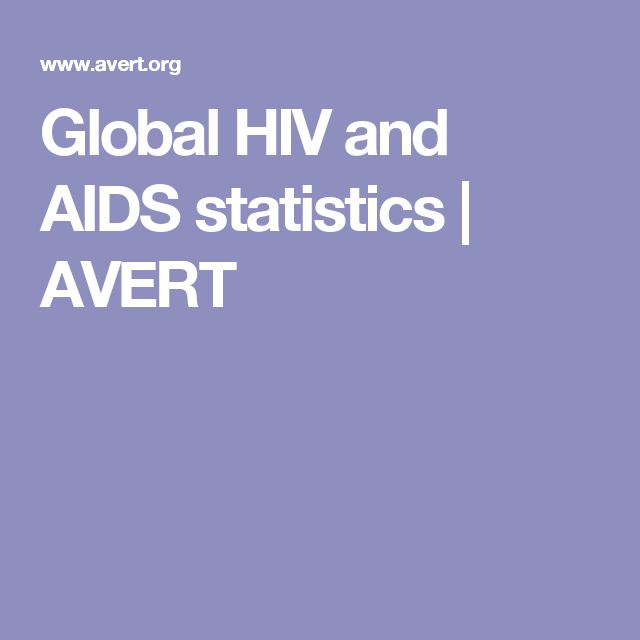 Global HIV and AIDS statistics | AVERT
