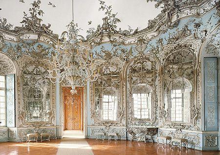 Amalienburg, Spiegelsaal