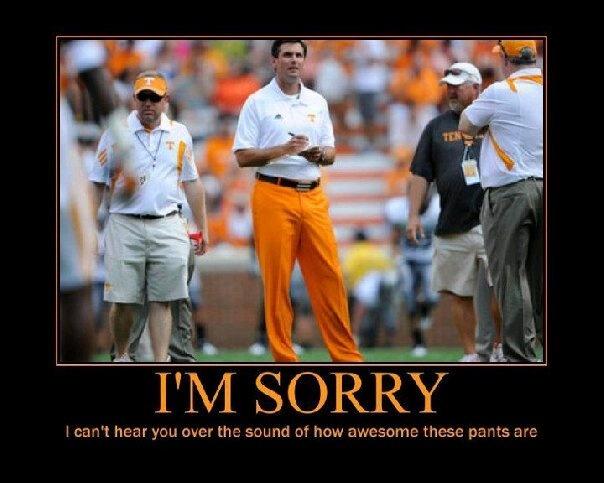 GO VOLS!: Dooley S Orange, Football Time, Favorite Things, Derek Dooley, Coach Dooley, Tennessee Volunteers, Coaches, Bleed Orange, Big Orange Pants