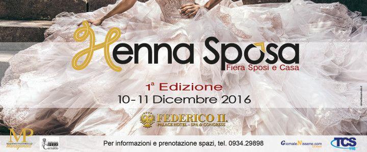 Hennasposi , fiera sposi 10 e 11 dicembre #hotelfedericoII