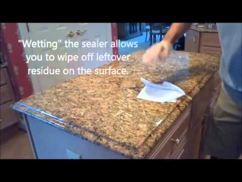 How To Choose The Best Granite Sealer; caring for your counter tops