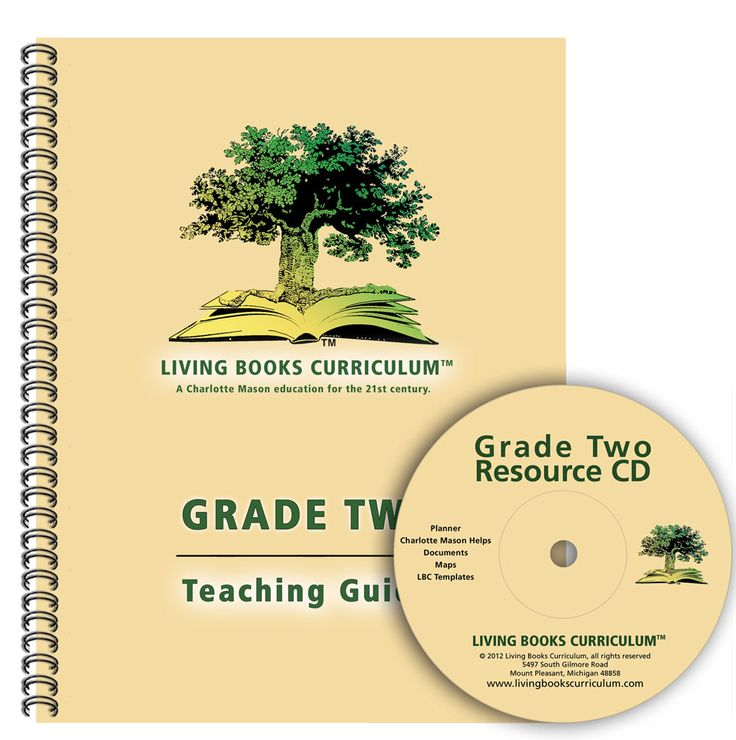 LivingBooksCurriculum Grade Two Teaching Guide & CD (Print Edition)
