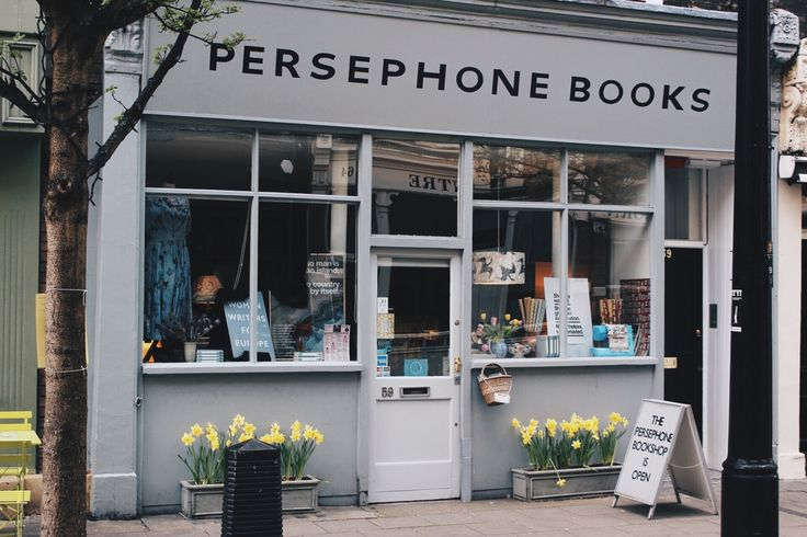 Went down to Persephone Books today and I'm definitely going back before I leave.