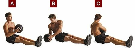 Burn Fat With This 5 Exercise Medicine Ball Workout