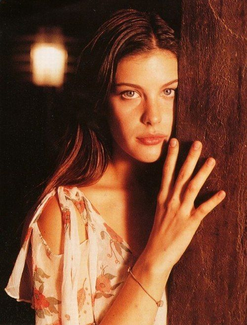 Fresh-faced beauty. Liv Tyler played a virgin in Stealing Beauty (1996).