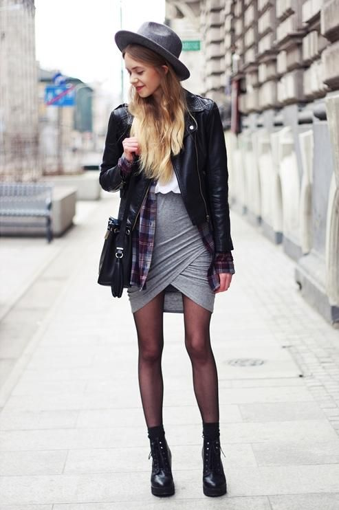 Ways to Make Gray Your Closets New Black   StyleCaster