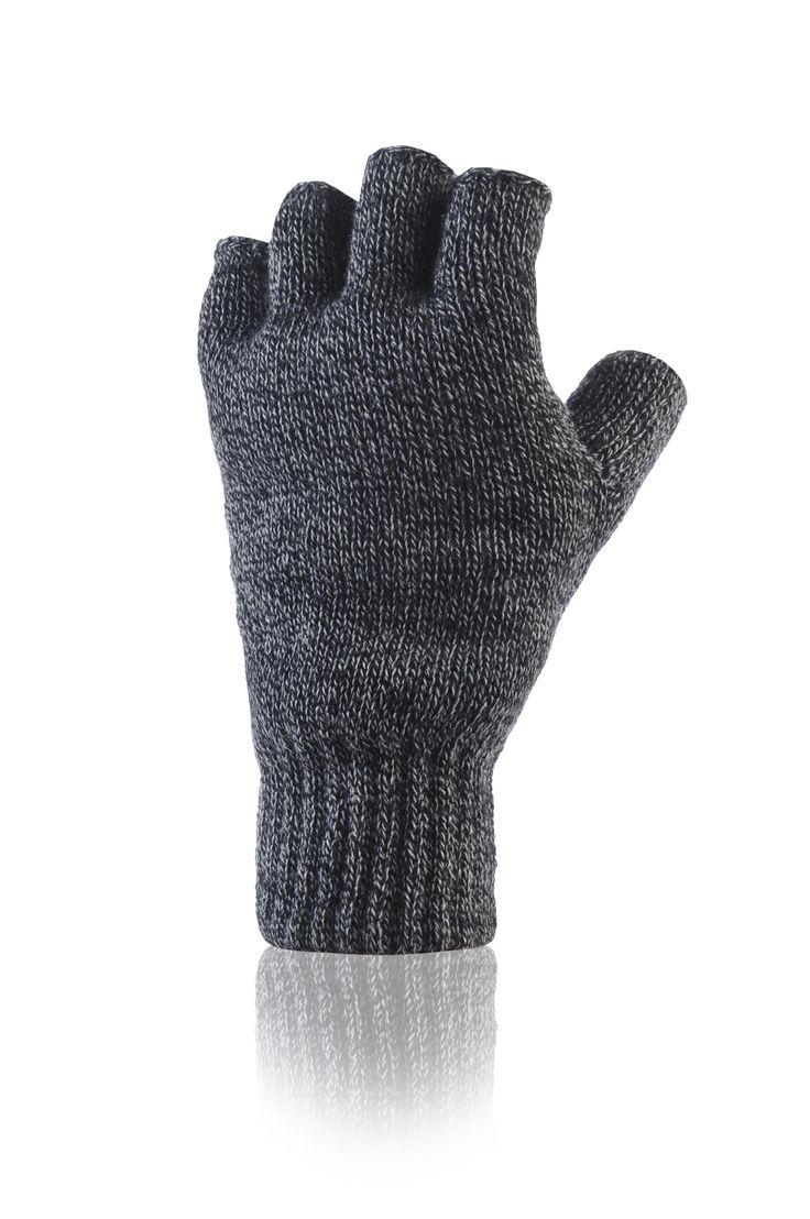 Mens Fingerless Gloves