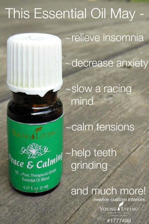 Young Living's Peace and Calming Essential Oils by macie_sloan