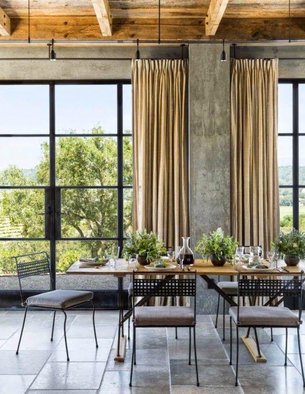 Oltre 25 fantastiche idee su tavolo casa di campagna su - Sala da pranzo rustica ...