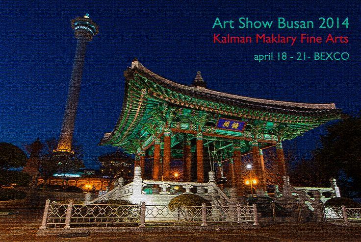 Art Show Busan, Busan - Korea, april 2014