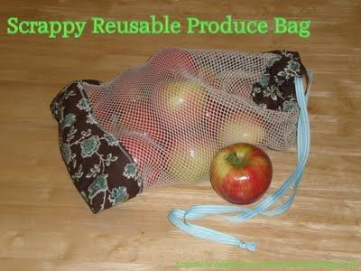 A day in the life of the Hooks: Keeping you in stitches: Scrapppy Reusable Produce Bag Tutorial