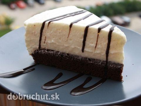 Fotorecept: Jogurtovo-pribináčiková torta - Túto tortu som objavila v časopise, ktorý som si kúpila keď som mala 17 rokov a ležala som...