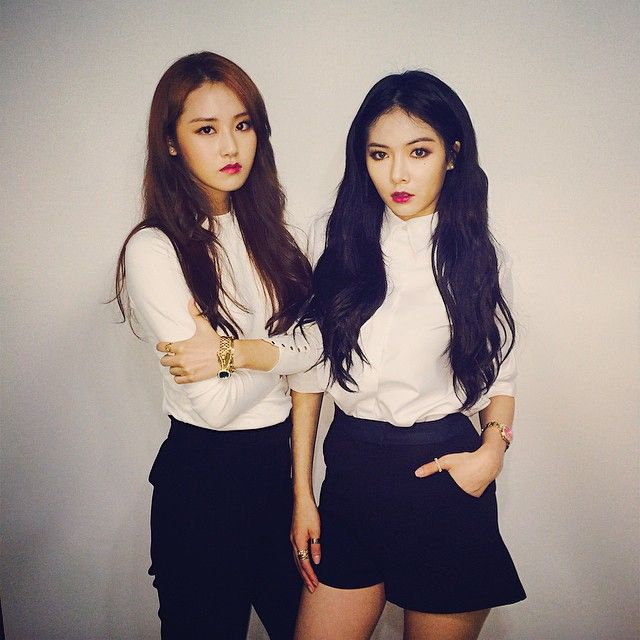 gayoon, hyuna ~so hot!!!