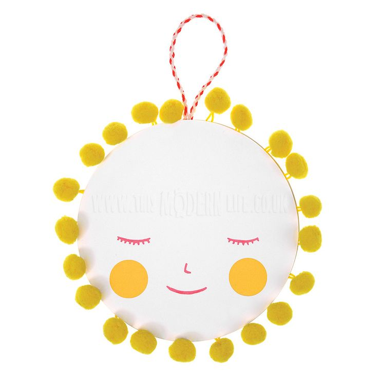 Card . New Baby - Pompom Sunshine