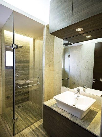 Beautiful LED Illuminated Bathroom Mirror Delhi 80x80 Cm  Modern  Wall Mounted