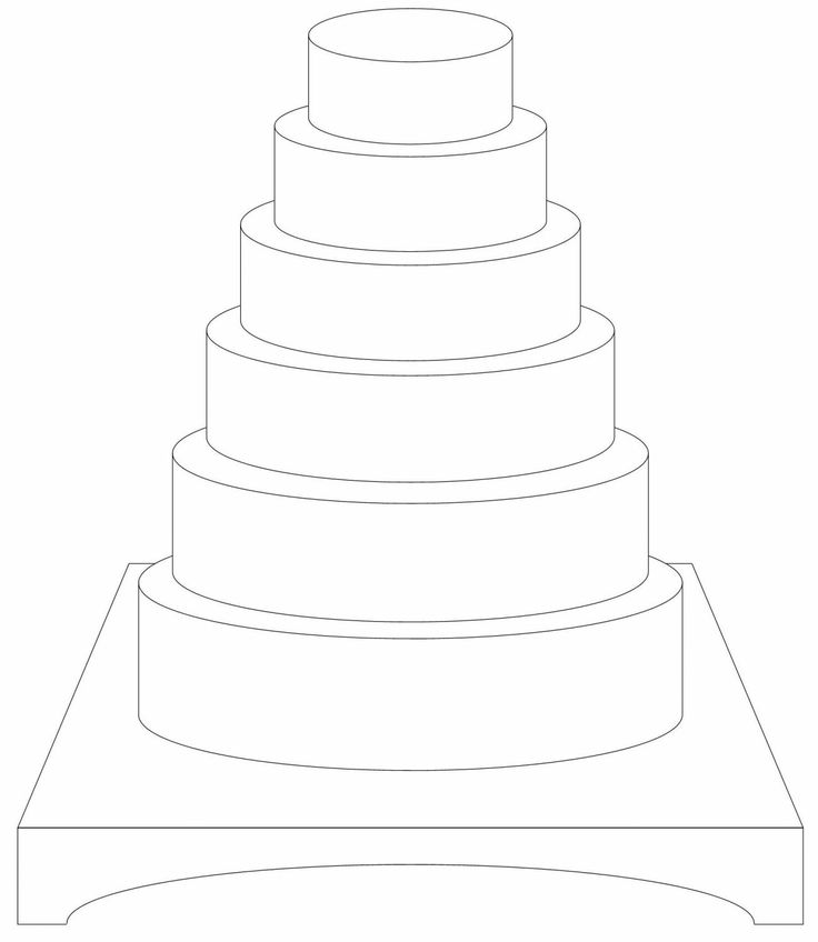 3 tier wedding cake outline 17 best images about cake designing templates on 10287