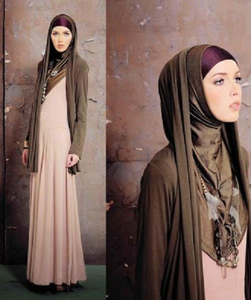 35 Modern and Simple Hijab Styles - http://stylonica.com/hijab-styles/