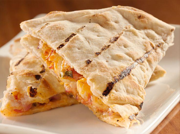 Ham and Cheese Quesadillas
