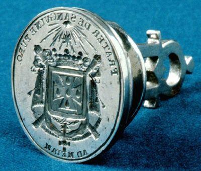 Courtesy of the Royal Armoury // Signet för hertig Fredrik Adolf av Östergötland (1750-1803), 1780-tal. / Seal of Duke Frederick Adolf of Östergötland (1750-1803), 1780s.