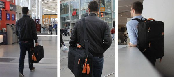 Standard Luggage: Carry On Backpack Travel Bag