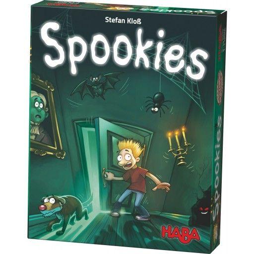 Engeltjes & Draken | Haba | Spookies (8+) Een spookachtig gokspel voor 2 tot 5 spokenjagers. #haba #gezelschapsspel #spookies #bordspel