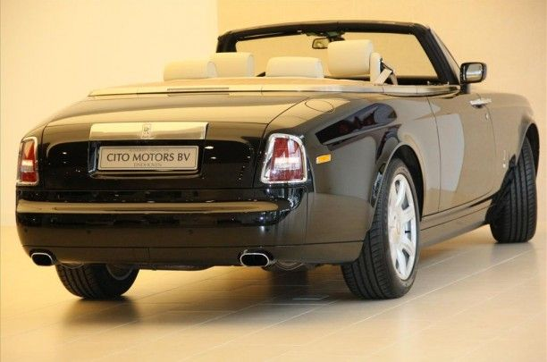 De Rolls-Royce Phantom Drophead Coupé is een luxe cabriolet