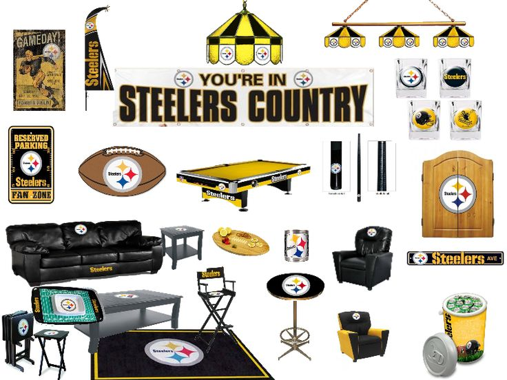 Awesome Pittsburgh Steelers Man Cave Ideas and Products featuring NFL licensed gear for Steeler Fans and & 42 best Pittsburgh Steelers images on Pinterest | Steelers stuff ... islam-shia.org