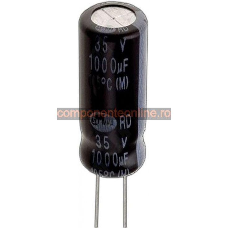Condensator electrolitic, 2200µF, 10V, pentru PC - 135257
