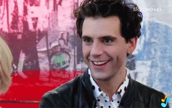 ANIMATED GIF Mika invigorates better than coffee X Factor