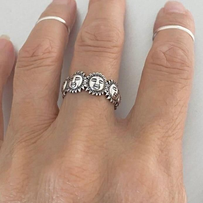 Boho Ring Silver Ring Butterfly Ring Details about  /Sterling Silver Butterfly Toe Ring