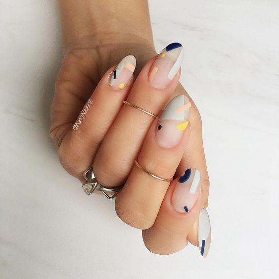 44 stilvolle ovale Nail Art Designs – Nails