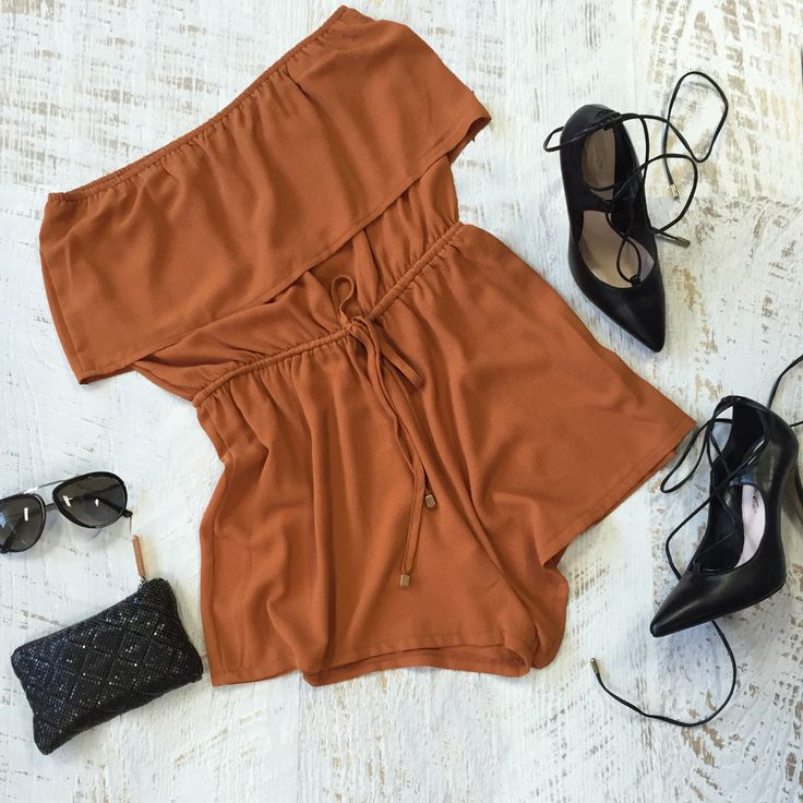 Oh how we're loving the copper tones for spring. Bring on the weekend. Shop the Arabella strapless playsuit in on trend copper via: http://www.urbansport.com.au/home/377-arabella-off-the-shoulder-playsuit-with-bust-overlay-copper.html