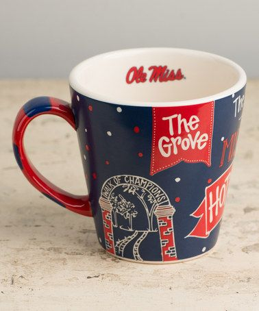 Another great find on #zulily! Ole Miss Rebels Collegiate Mug #zulilyfinds