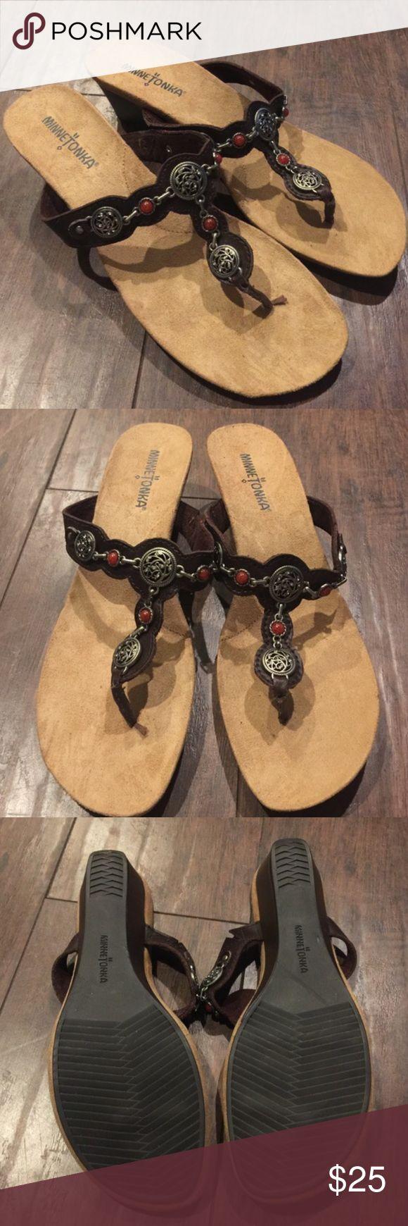 🎉Sale🎉 New Minnetonka Sandals New without box Minnetonka sandals size 8 Minnetonka Shoes Sandals