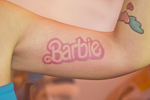 Can't wait to get my Barbie tattoo!