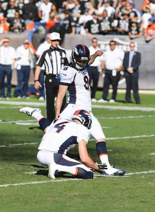 Brandon McManus - Broncos vs Raiders (11/9/14)