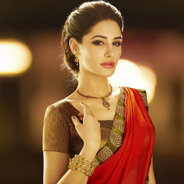 # Nargis Fakhri # d'damas # Print Ad # Bollywood