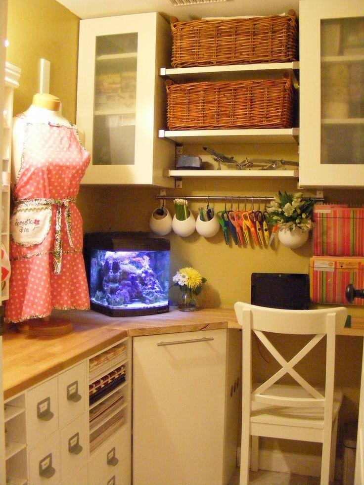 Craft Rooms | DIY Show Off ™ - DIY Decorating and Home Improvement Blog