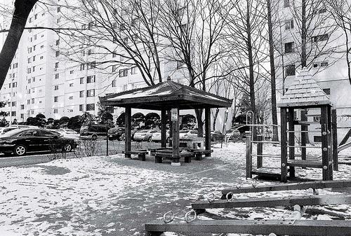 Black winter in Seoul