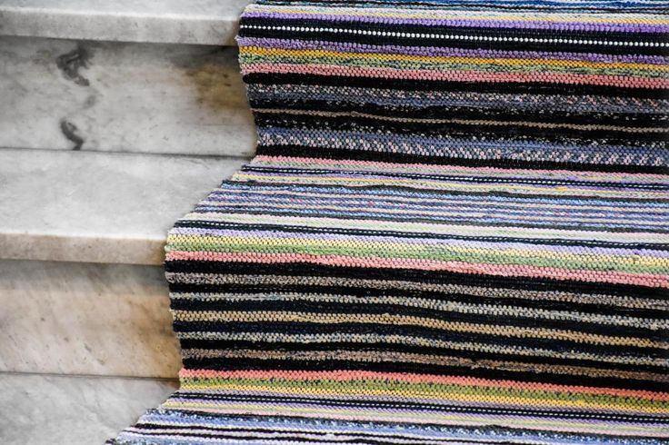 Swedish vintage rag rug 0826 - Rugs of Sweden