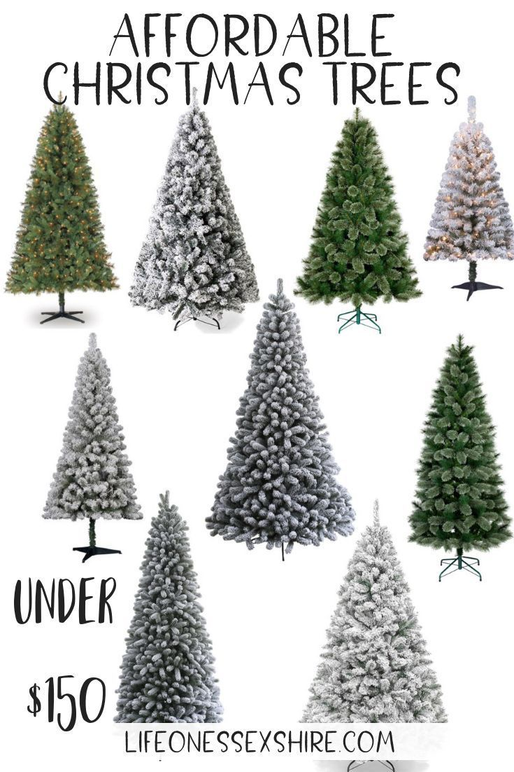 Affordable Affordable Christmas Trees You Need Under 150 Life On Essexshire Affordable Christmas Unique Christmas Trees Themes Farmhouse Christmas Decor