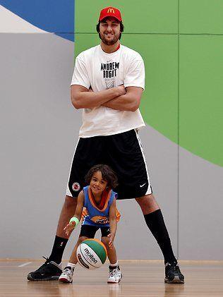 Andrew Bogut basketball camp :)