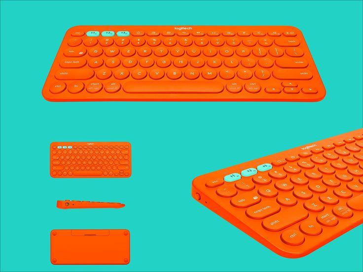 Logitech K380 Multi-Device Keyboard - Color on Behance