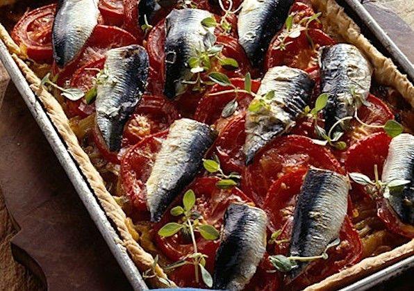 Torta salata con pesce azzurro. Ricette estive