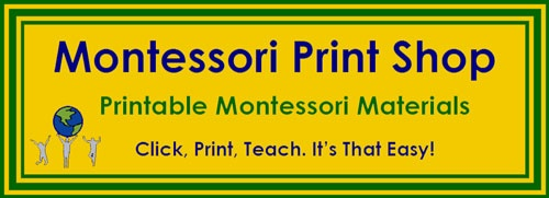 Printables: Printable Montessori, Montessori Printable, Montessori Prints, Montessori Learning, Montessori Preschool, Prints Shops, Preschool Ideas, Montessori Materials, Free Printable
