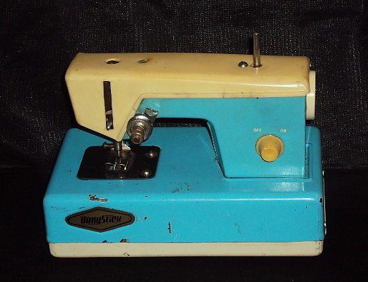 vintage child sewing machine