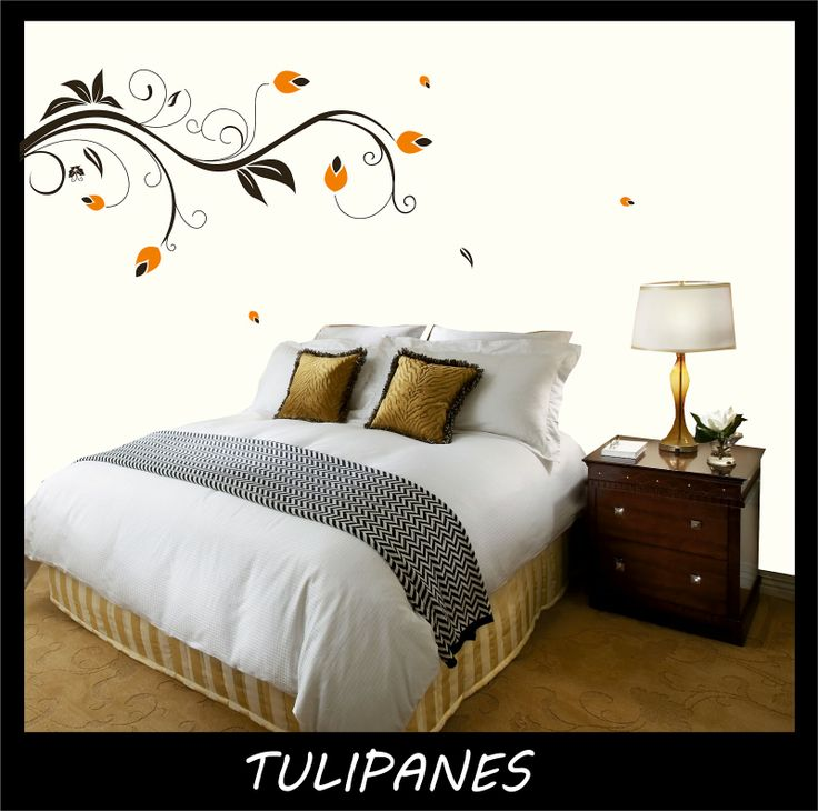 VINILO DECORATIVO- TULIPANES