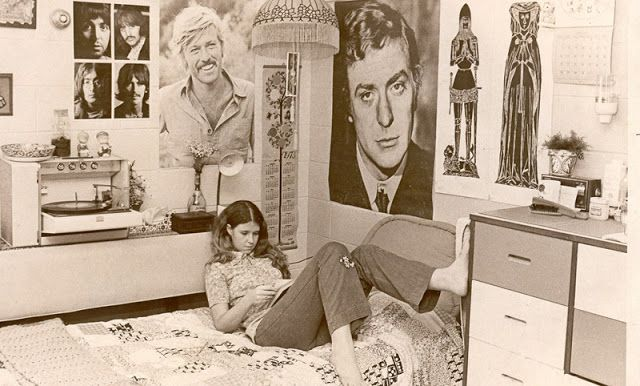 Vintage Dorm Room