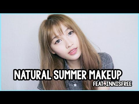 Natural Summer Makeup with innisfree - YouTube